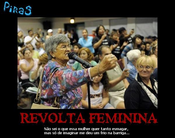 placas motivacionais revolta feminina