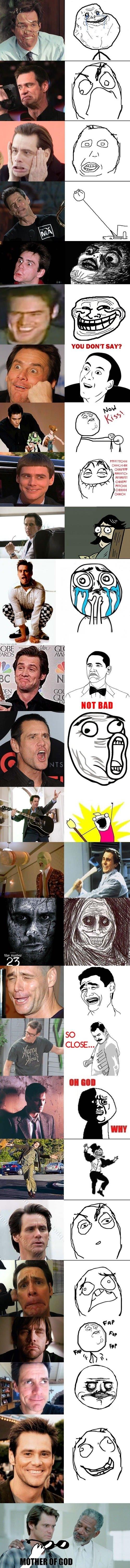 Jim Carrey Meme Face Jim-carrey-rage-faces Jim Carrey