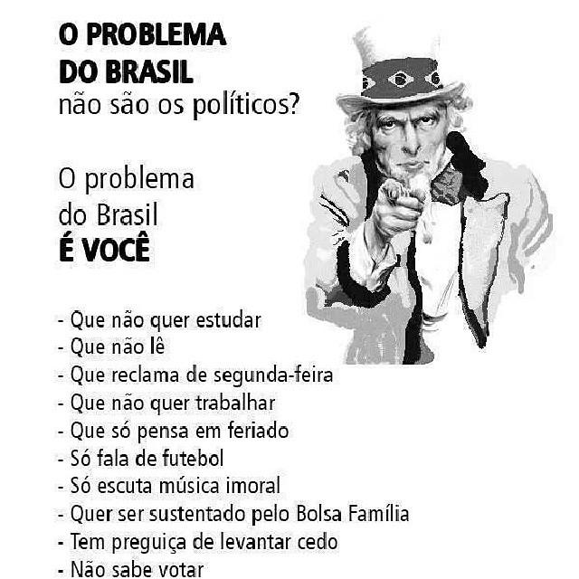 problema do brasil