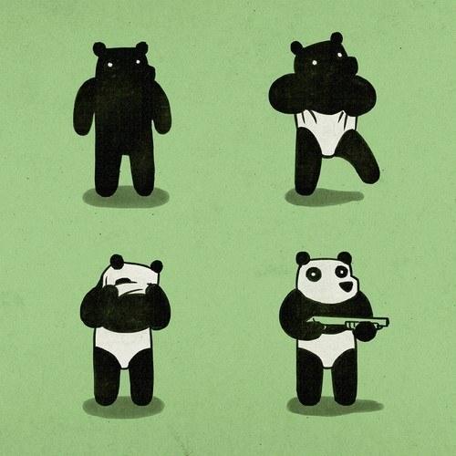 panda assalto